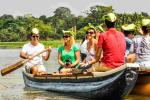 Kanoe turisti