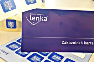 Věrnostní kartička CK Lenka